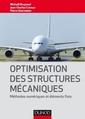 Couverture de l'ouvrage Optimisation des structures mécaniques