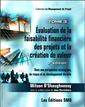 Couverture de l'ouvrage Évaluation de la faisabilité financière des projets et la création de valeur, Tome 3