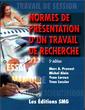 Couverture de l'ouvrage Normes de présentation d'un travail de recherche