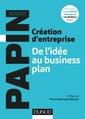Couverture de l'ouvrage Création d'entreprise