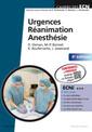 Couverture de l'ouvrage Urgences-réanimation-anesthésie