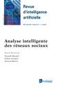 Couverture de l'ouvrage Analyse intelligente des réseaux sociaux