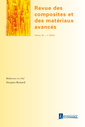 Couverture de l'ouvrage Revue des composites et des matériaux avancés Volume 26 N° 2/Avril-Juin 2016