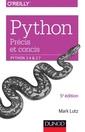 Couverture de l'ouvrage Python précis et concis : python 3.4 et 2.7