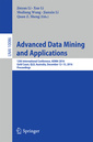 Couverture de l'ouvrage Advanced Data Mining and Applications