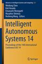 Couverture de l'ouvrage Intelligent Autonomous Systems 14
