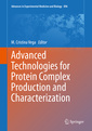 Couverture de l'ouvrage Advanced Technologies for Protein Complex Production and Characterization