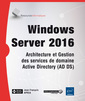 Couverture de l'ouvrage Windows Server 2016