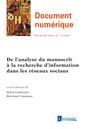 Couverture de l'ouvrage Document numérique - RSTI série DN - Volume 19 n° 2-3/Mai-Décembre 2016