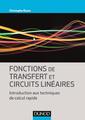 Couverture de l'ouvrage Fonctions de transfert et circuits linéaires