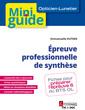 Couverture de l'ouvrage Épreuve professionnelle de synthèse (Opticien-Lunetier)