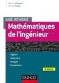 Couverture de l'ouvrage Mathématiques de l'ingénieur