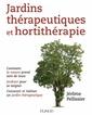 Couverture de l'ouvrage Jardins thérapeutiques et hortithérapie