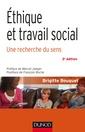 Couverture de l'ouvrage Ethique et travail social