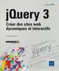 Couverture de l'ouvrage jQuery 3