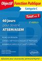 Couverture de l'ouvrage 60 jours pour devenir ATSEM/ASEM