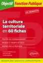 Couverture de l'ouvrage La culture territoriale en 60 fiches