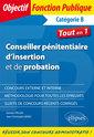 Couverture de l'ouvrage Conseiller penitentiaire d'insertion et de probation