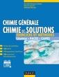 Couverture de l'ouvrage Chimie générale : chimie des solutions