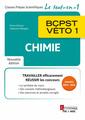 Couverture de l'ouvrage Chimie BCPST-VÉTO 1 (2e éd.)