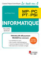 Couverture de l'ouvrage Informatique MP, PC, PT, PSI