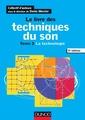 Couverture de l'ouvrage Le livre des techniques du son