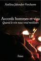 Couverture de l'ouvrage Accords hommes et vin