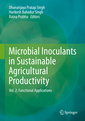 Couverture de l'ouvrage Microbial Inoculants in Sustainable Agricultural Productivity