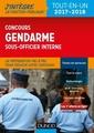 Couverture de l'ouvrage Concours gendarme sous-officier interne - 2017-2018 - tout-en-un