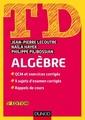 Couverture de l'ouvrage TD Algèbre (5° Éd.)