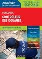 Couverture de l'ouvrage Contrôleur des douanes 2017/2018 - concours externe et interne (2° Éd.)