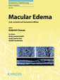 Couverture de l'ouvrage Macular edema (2nd, revised and extended edition)
