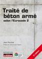 Couverture de l'ouvrage Traité de béton armé
