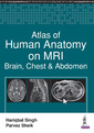 Couverture de l'ouvrage Atlas of Human Anatomy on MRI