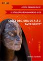 Couverture de l'ouvrage Créez des jeux de A à Z avec Unity®
