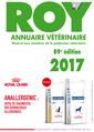 Couverture de l'ouvrage Annuaire vétérinaire Roy 2017