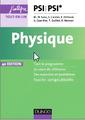 Couverture de l'ouvrage Physique tout-en-un PSI-PSI* (4° Éd.)