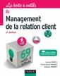 Couverture de l'ouvrage La boîte à outils du management de la relation client