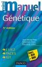 Couverture de l'ouvrage Mini Manuel de génétique
