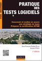 Couverture de l'ouvrage Pratique des tests logiciels (3° Éd.)