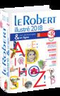 Couverture de l'ouvrage Le Robert illustré et son dictionnaire en ligne 2018