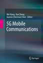 Couverture de l'ouvrage 5G Mobile Communications