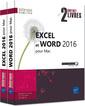 Couverture de l'ouvrage Excel et Word 2016 pour Mac (coffret de deux livres)