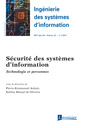 Couverture de l'ouvrage Sécurité des systèmes d'information. Technologie et personnes