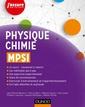 Couverture de l'ouvrage Physique-chimie MPSI