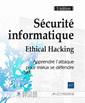 Couverture de l'ouvrage Sécurité informatique