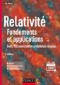 Couverture de l'ouvrage Relativité (3° Éd.)