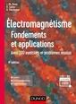 Couverture de l'ouvrage Électromagnétisme : Fondements et applications