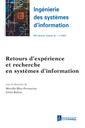 Couverture de l'ouvrage Retours d'expérience et recherche en systèmes d'information