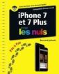 Couverture de l'ouvrage Iphone 7 et 7 plus pas à pas pour les nuls